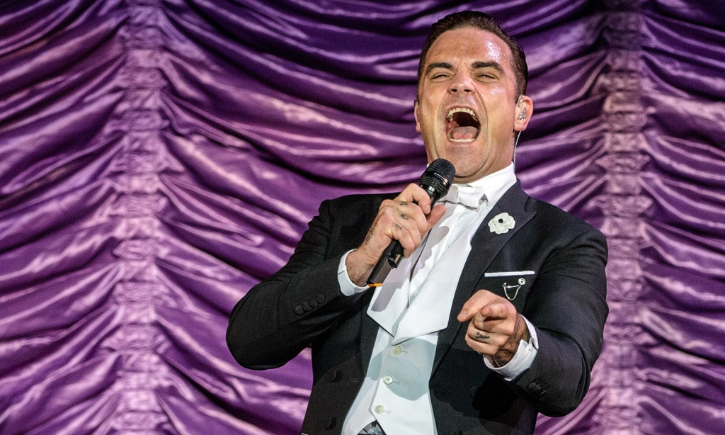 Robbie Williams Swing This Way -kiertue Amsterdamissa