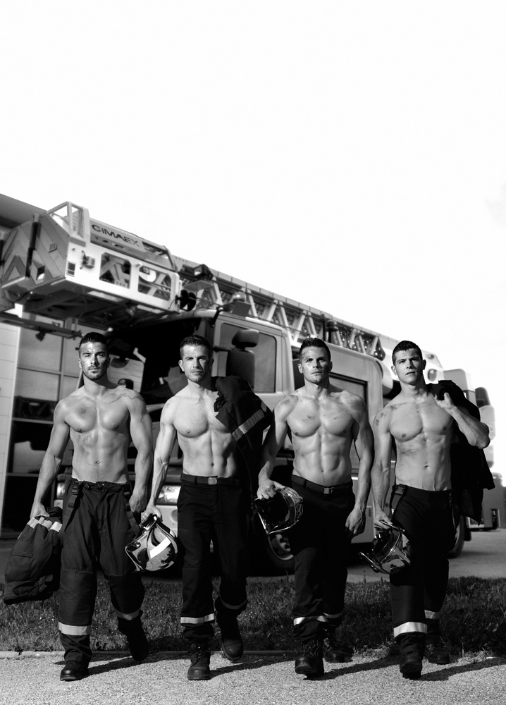 CALENDRIER DES POMPIERS photo Fred Goudon (4)
