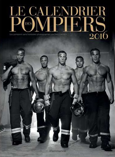 CALENDREIR DES POMPIERS photo Fred Goudon