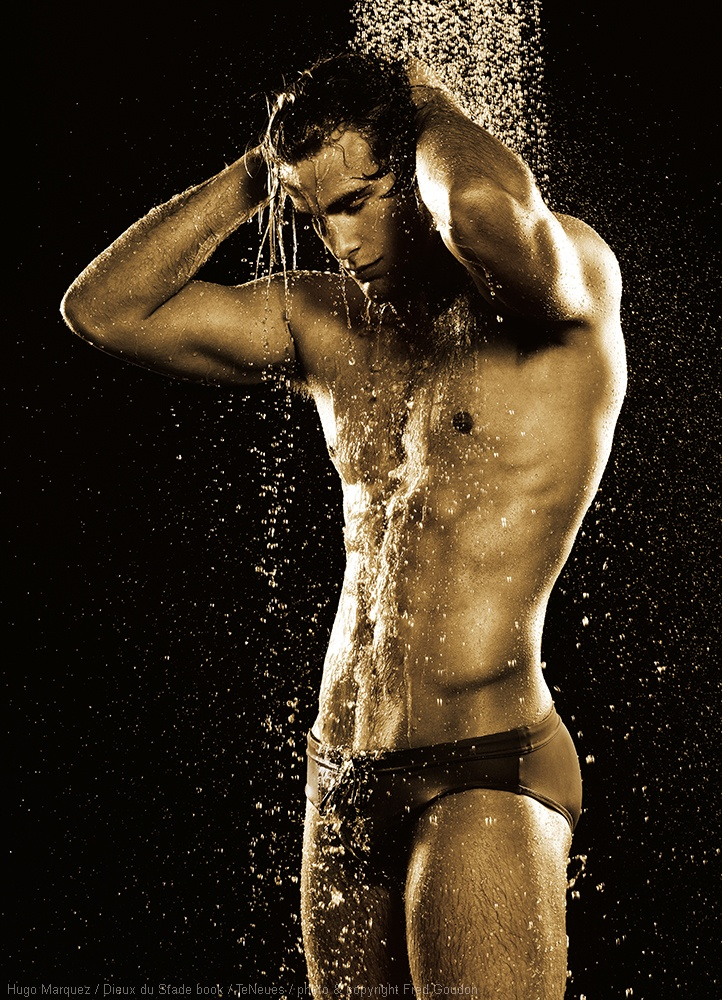 HUGO MARQUEZ  DIEUX DU STADE BOOK TENEUES photo and copyright Fred Goudon