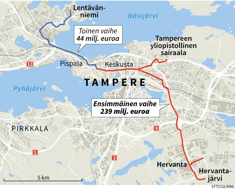 Raitiotie Tampere