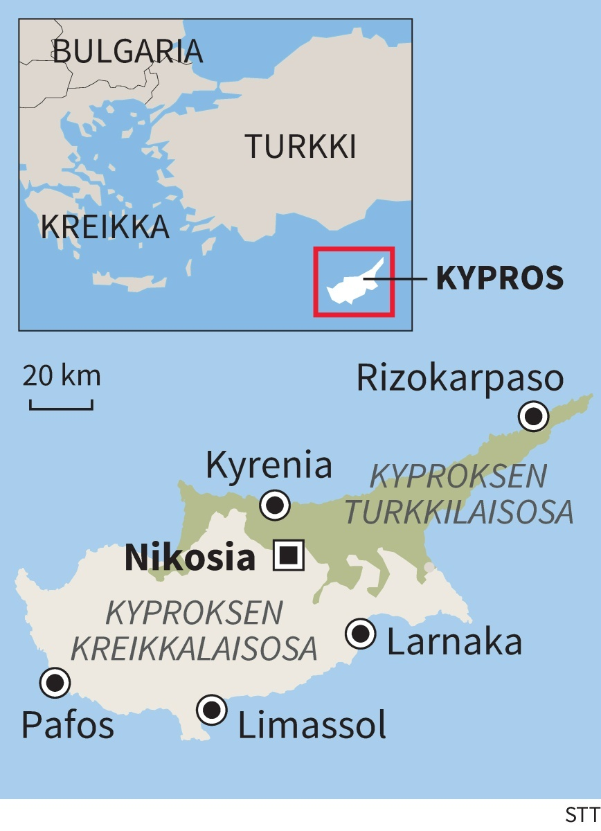 Kyproksen Jalleenyhdistyminen Vaikea Mutta Mahdollinen
