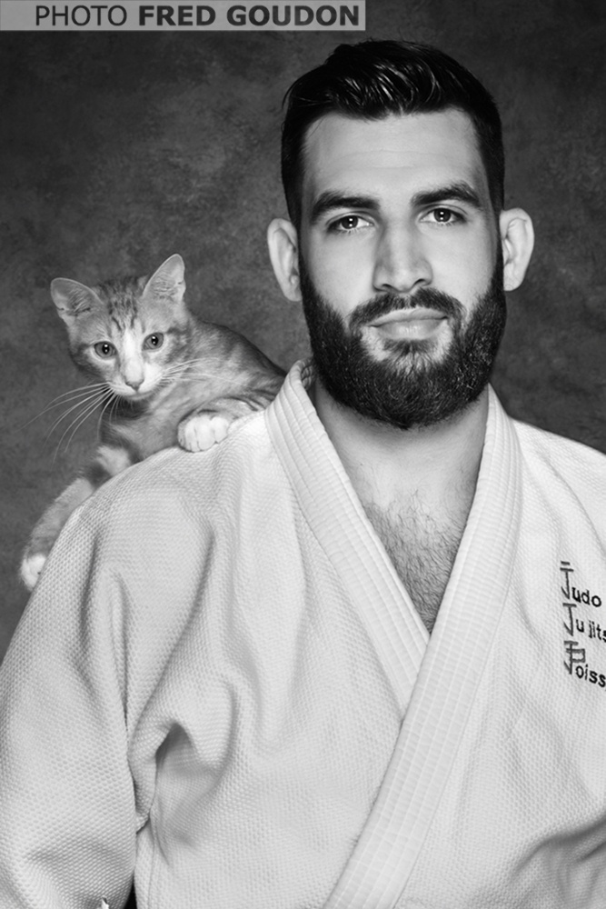 JUDOKAS CHATS Thibault Jaladon photo Fred Goudon editins First