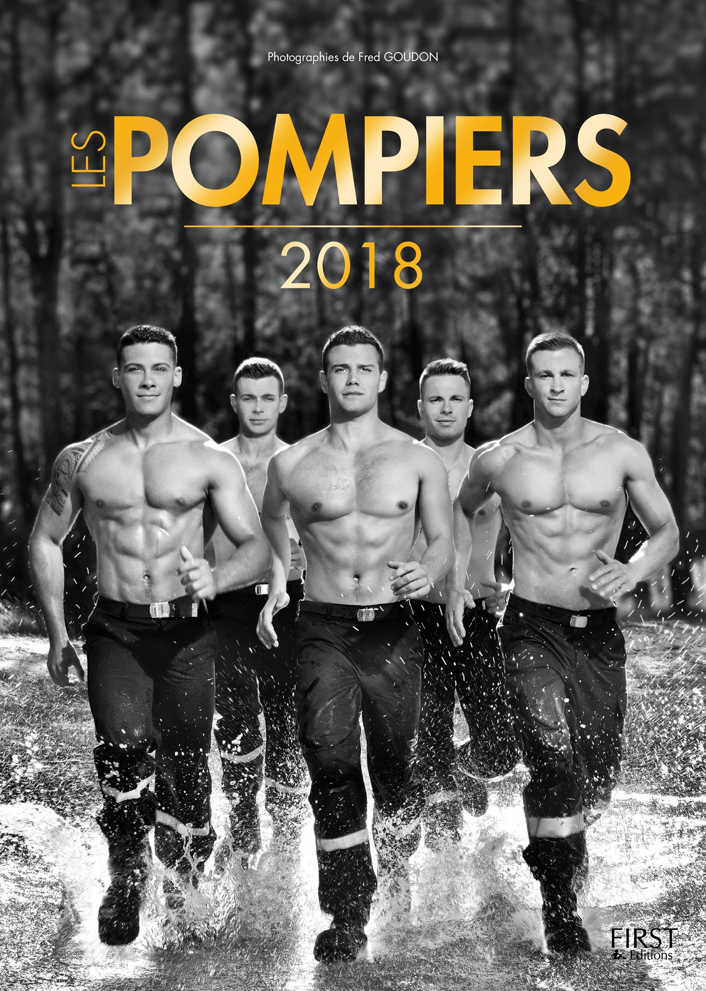 Les POMPIERS  2018 FIRST copyright Fred Goudon cover  (2)