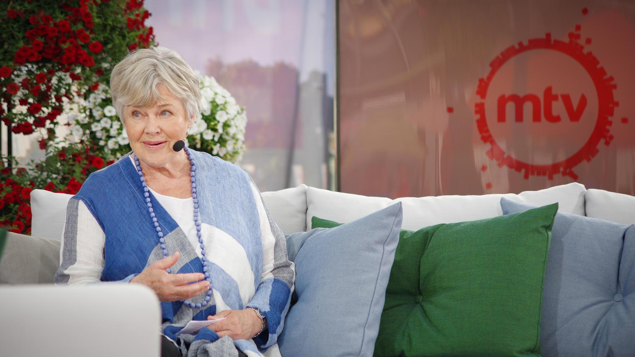 Elisabeth Rehn SuomiAreena -avajaiset 2017 kuva2