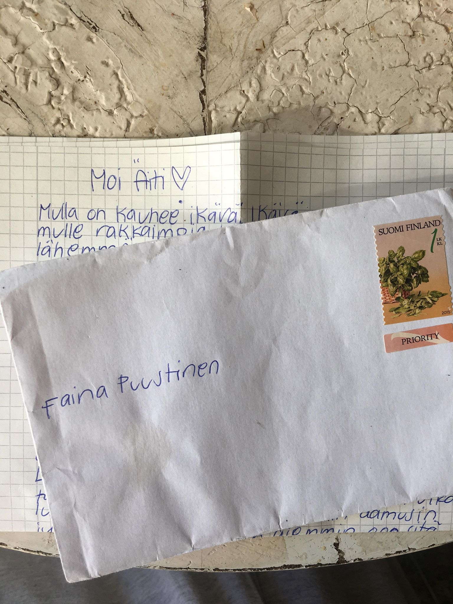 Riina Mäkinen kirje