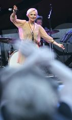 Katri Helena Seinäjoella heinäkuussa 2009.