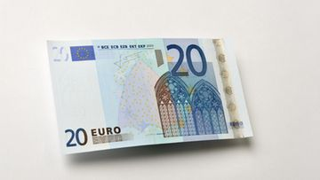 20 euron seteli.
