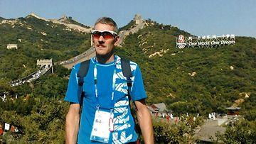 Jarmo Ollanketo valmistautuu vuoden 2012 Lontoon paralympialaisiin.