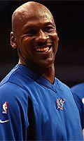 Maailman vaikutusvaltaisin koripalloilija Michael Jordan täyttää maanantaina 40 vuotta ja juhlii syntymäpäiväänsä työn ääressä. - 59198