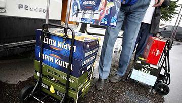 Alkoholintuonti Virosta on laskussa.