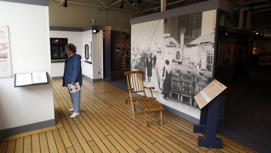 Kanadan Halifaxissa sijaitsevassa Atlantin merenkulkumuseossa on merkittävä kokoelma esineitä vuonna 1912 uponneesta Titanicista.