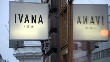 Ivana Helsingin liike sijaitsee suositussa Designkorttelissa.