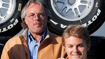 Keke ja Nico Rosberg (Photo: Gero Breloer / EPA)