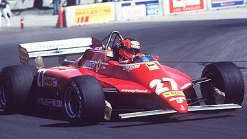 Gilles Villeneuve (Photo: Steve Powell / Allsport)