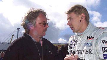 Keke Rosberg ja Mika Häkkinen (Photo: Andreas Rentz / Bongarts / Getty Images)
