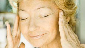 Akupunktio toimii kasvojen rentouttamisessa.
