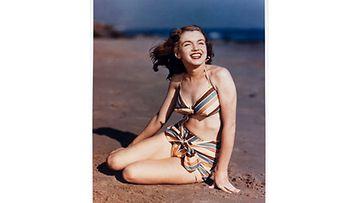 19-vuotias Norma Jean Dougherty poseerasi valokuvaaja Joseph Jasguarille vuonna 1946.