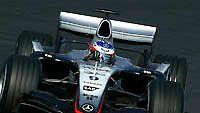 Kimi Räikkönen, McLaren MP4-20, kuva: West McLaren Mercedes