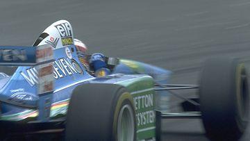JJ Lehto, Benetton F1, 1994.