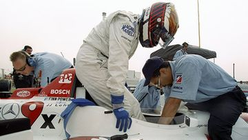 JJ Lehto ajoi kaudella 1998 CART-sarjassa Hogan-tallin autoa.