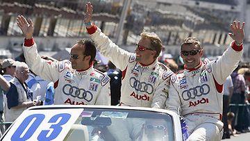 JJ Lehto voitti Le Mansin 24 tunnin ajon 2005.