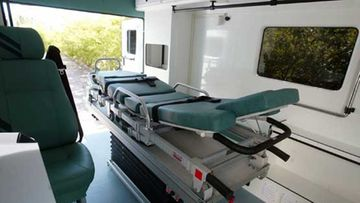 Ambulanssin valmistaminen on työläs prosessi.