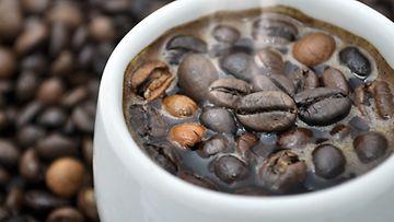Kahviin jää helposti tilanneriippuvaiseksi.