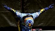 Fernando Alonso (Kuva: Clive Rose/Getty Images)