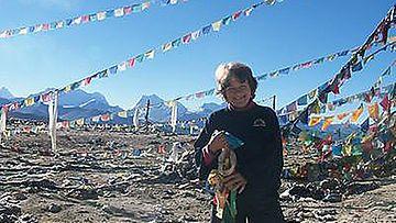 Marketta Horn Tiibetissä.