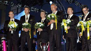 Finlanders oli yleisön suosikki Iskelmä-Finlandian jakotilaisuudessa 2009.
