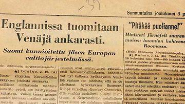 Lehtikuva/Tor Wennström