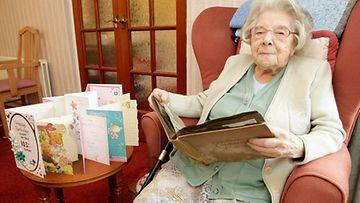 Gladys Gough täytti viime vuonna 103 vuotta.