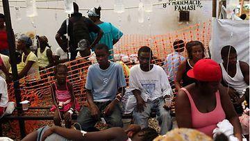 Haitilaiset ovat kokeneet kovia.