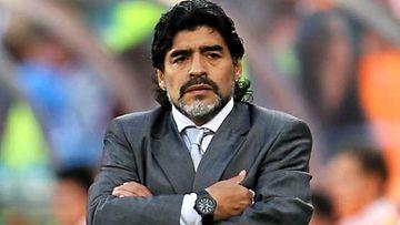 Diego Maradonaa palvotaan sekä urheilijana että hengellisenä johtajana.