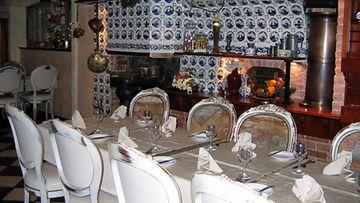 Salve-ravintolassa on hurmaava sisustus ja paikallista ruokaa.