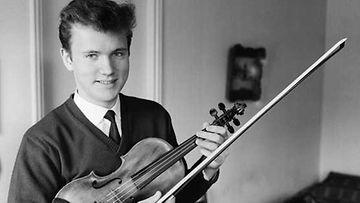 Maj Lind -pianokilpailun voittaja Leif Segerstam vuonna 1962.