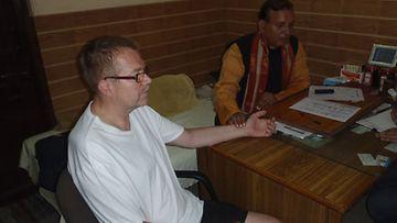 Jaria hoitavat Intian parhaimmat gurut.