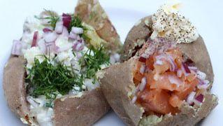 VHH-ruokavaliossa uuniperunasta syödään vain kuoret. Sisus kaavitaan pois.