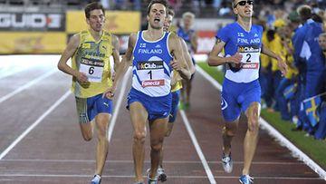 Suomi-Ruotsi maaottelu on Suomen Olympistadionin tutuin kansainvälinen yleisurheilukisa.