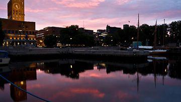 Oslo on pinta-alaltaan yksi maailman suurimmista pääkaupungeista.