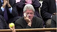 Bill Clinton. Photo: Clive Brunskill/ALLSPORT
