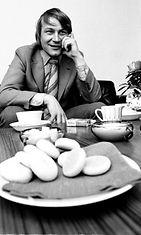 Vexi Salmi, 4. maaliskuuta 1971. Kuva: LEHTIKUVA / Juhani Salonen