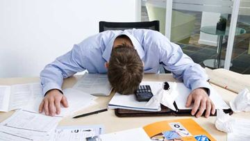 Stressi aiheuttaa unettomuutta.