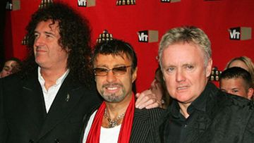 Queenin Brian May, Paul Rodgers ja Roger Taylor. Kuva: Ethan Miller / Getty Images.