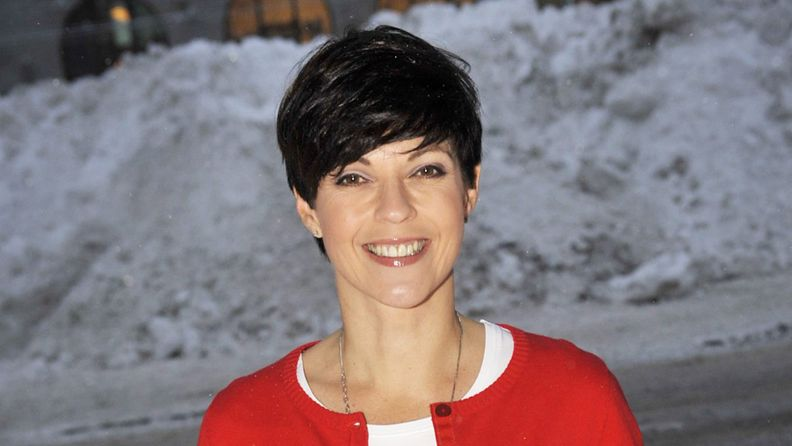 Tv-kuuluttaja Anna-Liisa Tilus.