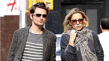 Matthew Bellamy ja Kate Hudson.