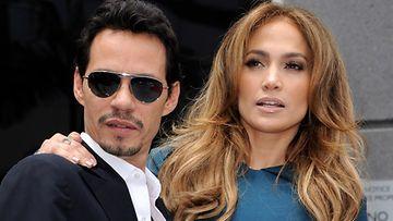 Jennifer Lopez ja Marc Anthony eroavat yllättäen.