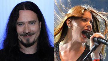 Tuomas Holopainen ja Floor Jansen