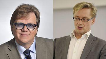 Mikko Alatalo ja Mikael Jungner ovat eri mieltä.